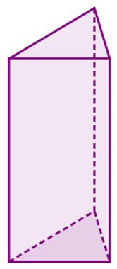 Prisma cujas bases são triângulos