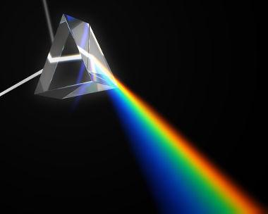 Representação de um prisma