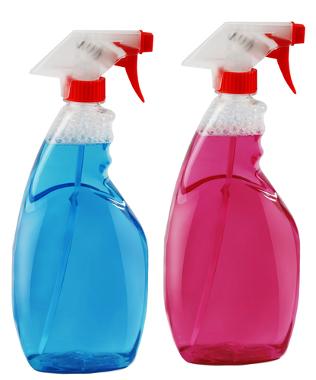 Alguns produtos de limpeza doméstica possuem hidróxido de amônio em sua composição