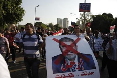 Manifestantes pedem a saída de Morsi no Egito