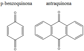 Exemplos de quinonas