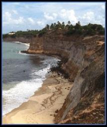 Paisagem litorânea do Rio Grande do Norte
