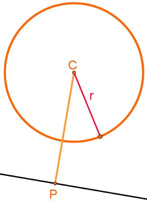 Reta externa à circunferência