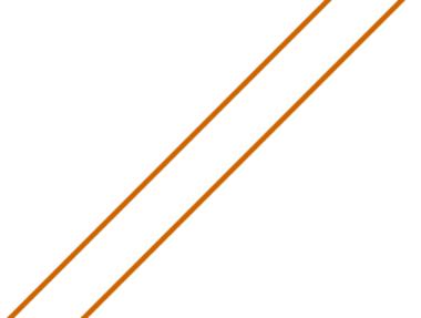 Representação gráfica de retas paralelas no plano