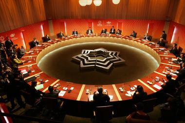 Reunião dos líderes dos países-membros da Apec em 2007, na Austrália