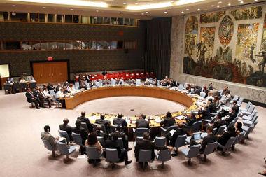 Reunião do Conselho de Segurança da ONU em agosto de 2013 *