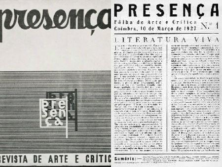Fundada em 1927, a Revista Presença foi a publicação literária de maior êxito da história do modernismo português