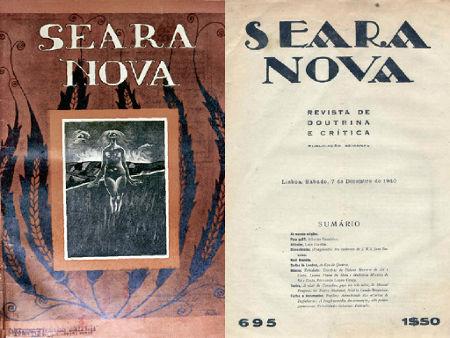 Fundada em 1921, a Revista Seara Nova foi fundamental para a divulgação da literatura neorrealista em Portugal