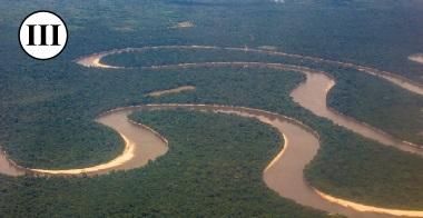 Rio Amazonas visto do céu