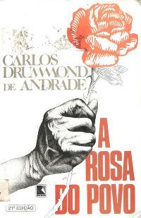 Capa do livro A rosa do povo, publicação realizada pela Editora Record