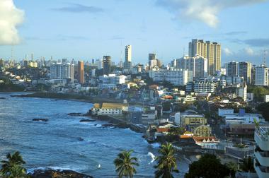 A cidade de Salvador é uma metrópole regional