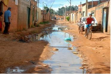 A ausência de saneamento básico gera vários problemas à saúde humana