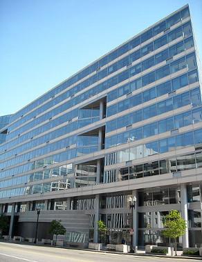 Sede do Fundo Monetário Internacional em Nova York ¹