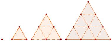 Sequência de números triangulares