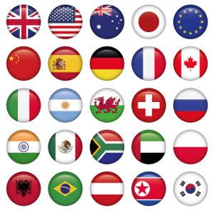 As bandeiras dos países servem como forma de identificação e de representação de uma nação e daqueles que com ela se identificam