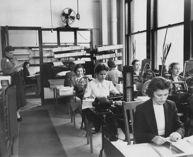 Linha de produção têxtil taylorista