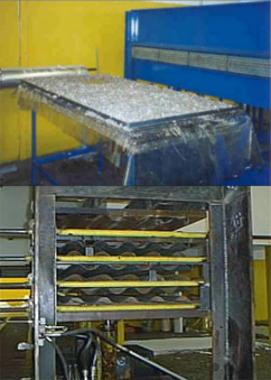 Fabricação de telha reciclada de plástico e alumínio de embalagens longa vida