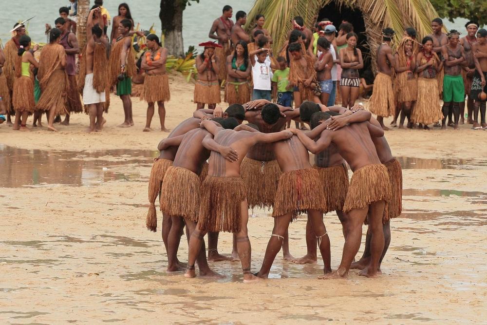Os povos indígenas têm direito originário às terras tradicionalmente ocupadas.*