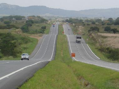 Rodovia Transamazônica (BR-230) em trecho no estado da Paraíba