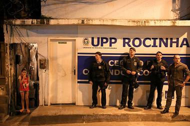 Unidade de Polícia Pacificadora da Rocinha, Rio de Janeiro *