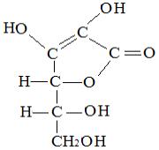 Estrutura da vitamina C