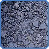 Xisto betuminoso é uma camada de rocha sedimentar