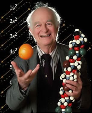 Linus Pauling e a representação do seu Diagrama para a distribuição dos elétrons