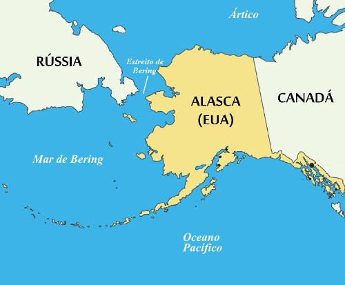 O Alasca é cheio de peculiaridades