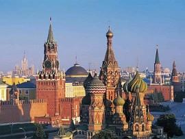 Moscou, capital da Rússia.