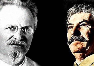 Trotsky x Stalin: a revolução socialista pensada de formas diferentes.