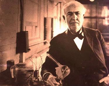 Edison quebrou os limites que separavam o inventor e o homem de negócios.