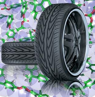O buna-N e o buna-S são copolímeros empregados na fabricação de pneus de automóveis