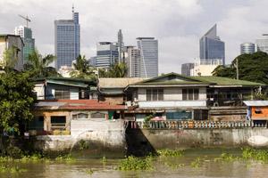 Em tempos de Globalização, o contraste entre riqueza e pobreza é visível no espaço das cidades