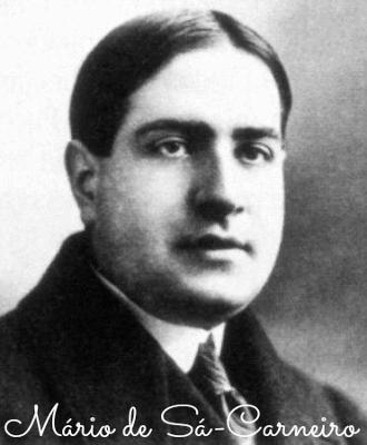 Mário de Sá-Carneiro nasceu em Lisboa, no dia 19 de maio de 1890. Cometeu suicídio em um hotel em Nice, na França, no dia 26 de abril de 1926
