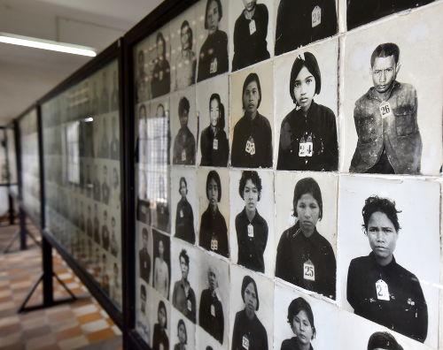 Museu em Phnom Penh, capital do Camboja, relembra as vítimas do genocídio cambojano *