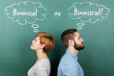 Antigamente, os dicionaristas atribuíam às palavras bimensal e bimestral a mesma carga semântica, embora elas não fossem um exemplo de sinonímia.