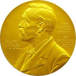 Medalha concedida aos ganhadores do Prêmio Nobel
