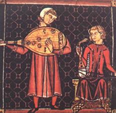 Trovador da lírica medieval