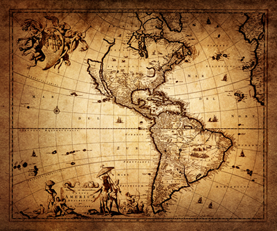 A História da América alterou-se profundamente após a chegada dos colonizadores europeus