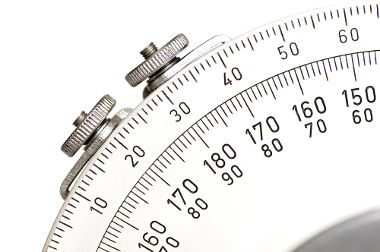 Transferidor: objeto usado para obter medidas de ângulos
