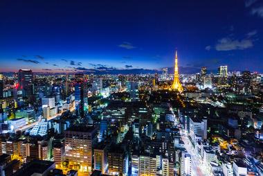 Tóquio, uma das principais áreas da maior megalópole do mundo