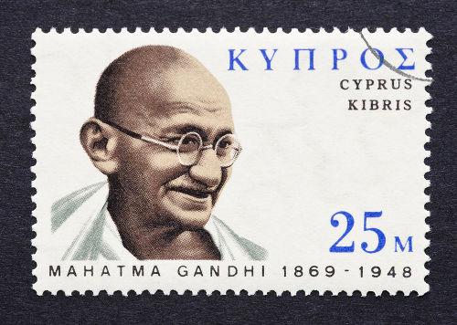 Mahatma Gandhi foi uma das grandes personalidades da Índia no século XX*