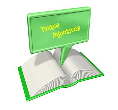 Os textos injuntivos se caracterizam por aqueles cuja natureza é instrucional
