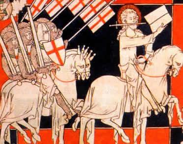 As cruzadas mobilizaram as populações européias rumo à conquista de regiões orientais.