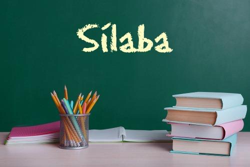 As sílabas são classificadas em tônicas ou átonas e sua base são as vogais