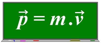 Equação da quantidade de movimento determinada na Mecânica Clássica