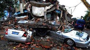 A China é um país onde há terremotos de forma freqüente
