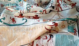Éteres são usados para fabricar seda artificial.