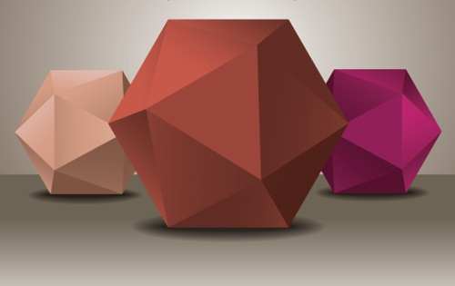 Poliedros são figuras geométricas formadas por planos e possuem como elementos vértices, arestas e faces