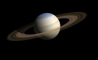 O principal aspecto que se nota em Saturno é a formação dos anéis que o circundam